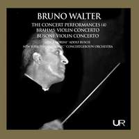 Walter conducts Brahms and Busoni