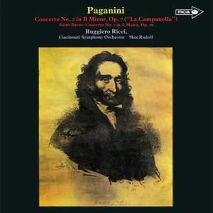 Paganini: Violin Concerto No. 2; Saint-Saëns: Violin Concerto No. 1