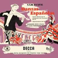 Sarasate: Danzas Españolas; Caprice Basque; Introduction et Tarantelle; Zigeunerweisen