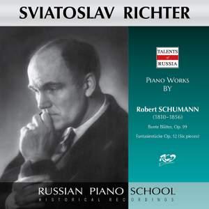 Schumann: Bunte Blätter, Op. 99 & Fantasiestücke, Op. 12
