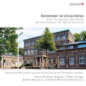 Treasures From the Detmold Archives: On the 75th Anniversary of the Detmold University of Music